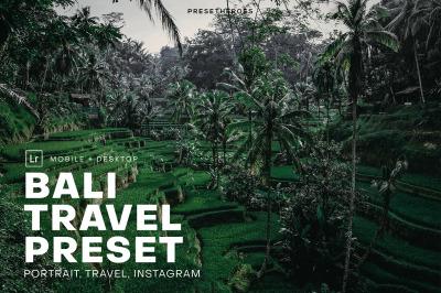 Bali Travel Lightroom Presets