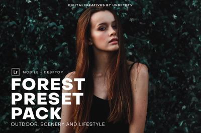 Forest Mobile & Desktop Lightroom