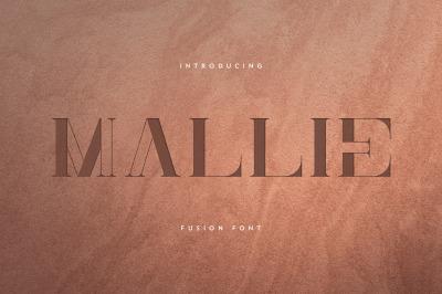 Mallie - Fusion font