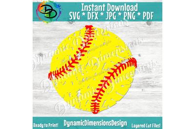 Softball Svg, Softball clipart, Softball, Baseball, Cricut Designs, S