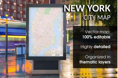 New York Street Map - City Map