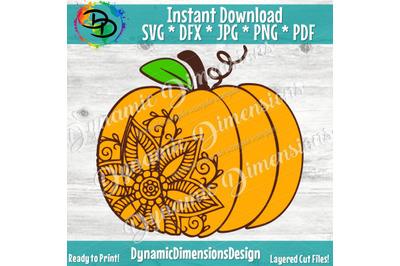 Sunflower svg, Pumpkin SVG, Sunflower pumpkin svg, Fall Svg, Pumpkin