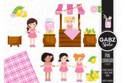 Pink Lemonade Clipart