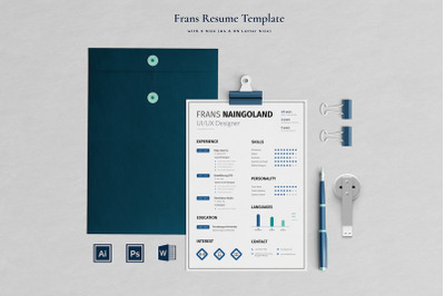 Frans Resume Template