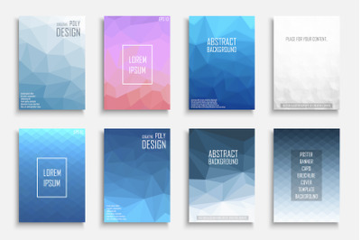Abstract colorful polygonal covers