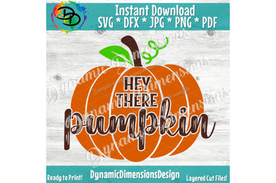 Hey there Pumpkin Svg, Thanksgiving Svg, Distressed pumpkin, Pumpkin Svg, Halloween Svg, Cutting files for use with Silhouette Cameo Cricut