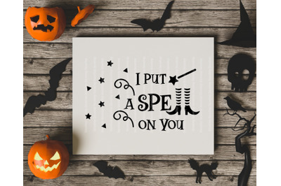 I Put A Spell On You SVG