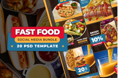 FAST FOOD - Social Media Bundle
