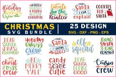 Christmas Svg Bundle Vol-15