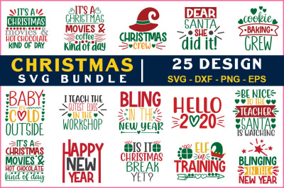Chrismas Svg Bundle Vol-20