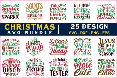 Chrismas Svg Bundle Vol-21