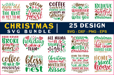 Chrismas Svg Bundle Vol-22