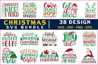 Chrismas Svg Bundle Vol-23