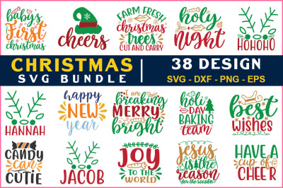 Chrismas Svg Bundle Vol-24