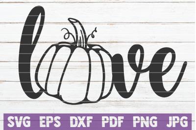 Pumpkin Love SVG Cut File