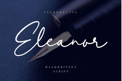 Eleanor Handwritten Script