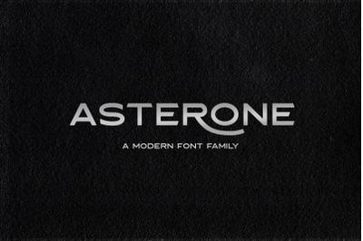 Asterone Sans