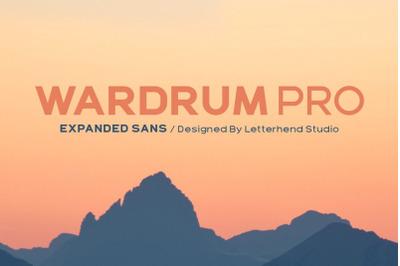 Wardrum PRO Sans Serif
