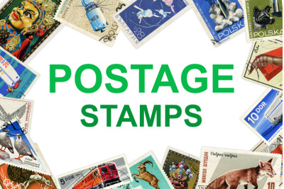 Postage Stamps Vol. 1