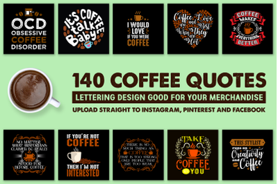 140 Coffee Quotes