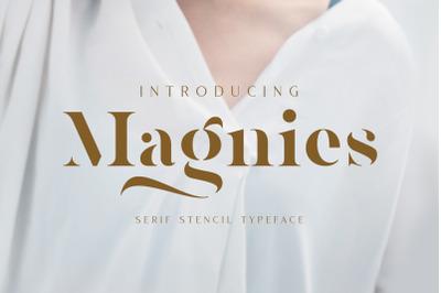 Magnies - Minimal Serif