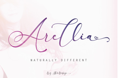 Arellia || Beautiful Script