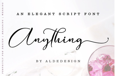 Anything || Beautiful Script