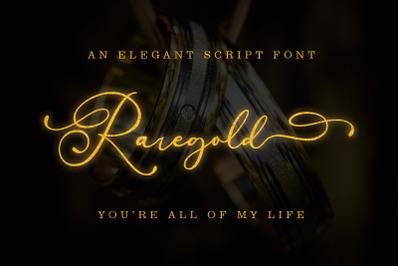 Raregold || Elegant Script