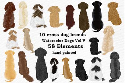 Dog Clipart, Dog breeds, Pet clipart, Cross Dog Breeds Png