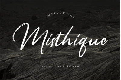 Misthique Signature Brush