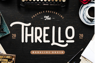 Thrello Monoline Brush