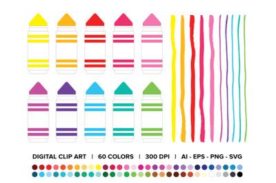Chunky Marker Clip Art