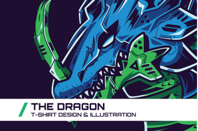 The Dragon T-Shirt Illustration