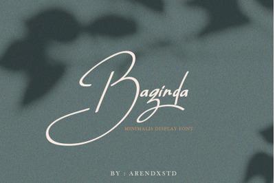 Baginda Typeface
