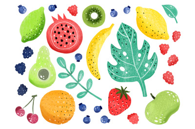 Fruit marker set