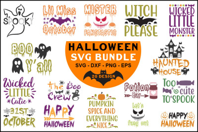 Halloween Svg Bundle Vol-03