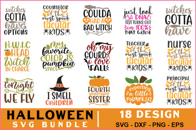 Halloween Svg Bundle Vol-04