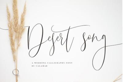 Desert Song | Calligraphy Script