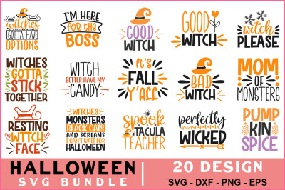 Halloween Svg Bundle Vol-05