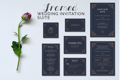Framed Wedding Suite