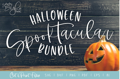 Spooktacular Halloween SVG Bundle