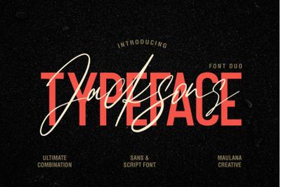 Jacksons Font Duo