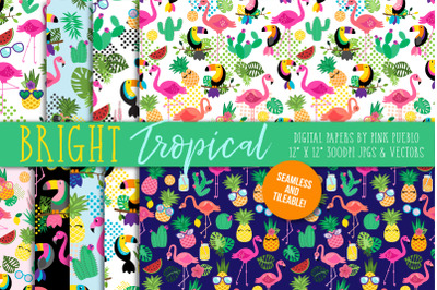 Tropical Patterns and Digital Papers