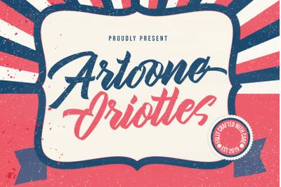 Artoone Oriottes Typeface
