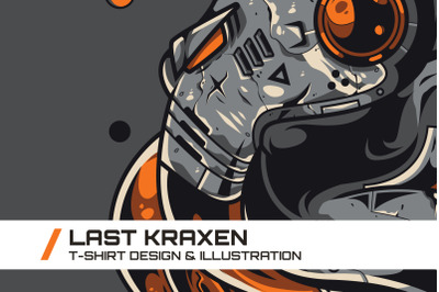 Last Kraxen T-Shirt Illustration