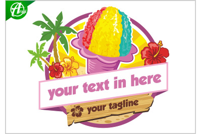 Hawaian ice cream