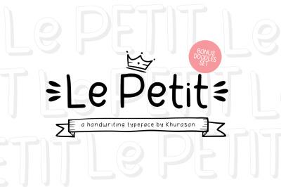 Le Petit + Doodle