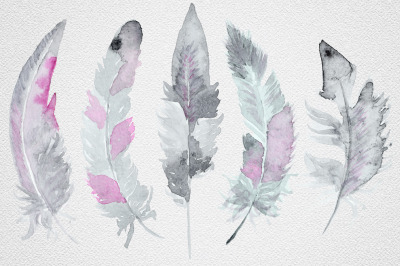 Feather set 8