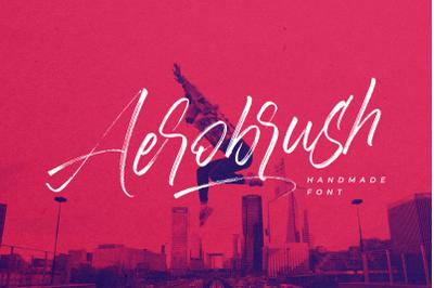 Aerobrush Font