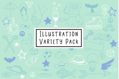 Illustration Variety Pack